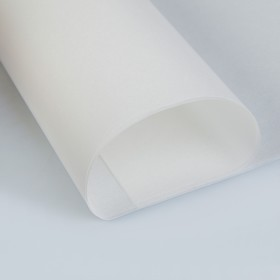 Калька для цветов 40 г/м², белая, 70 х 100 см Ош