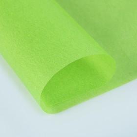 Калька для цветов 40 г/м², светло-зелёная, 70 х 100 см Ош
