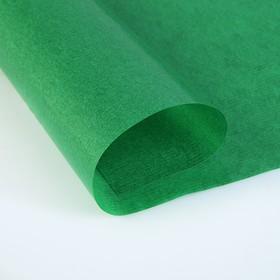 Калька для цветов 40 г/м², тёмно-зелёная, 70 х 100 см Ош
