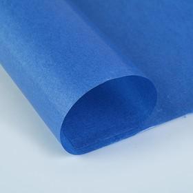 Калька для цветов 40 г/м², голубая, 70 х 100 см Ош