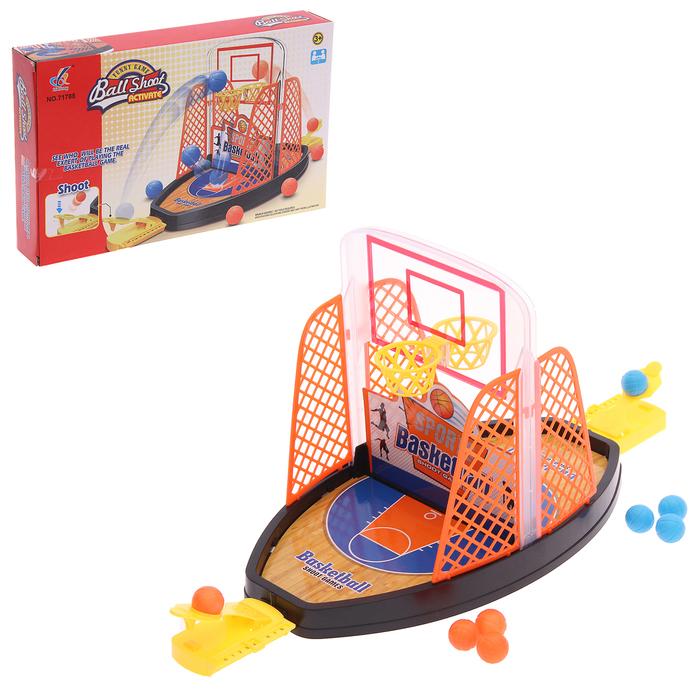 Настольный баскетбол Со всех сторон, для детей, 2 игрока