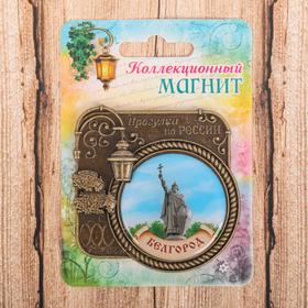 Магнит «Белгород», серия прогулки по России Ош