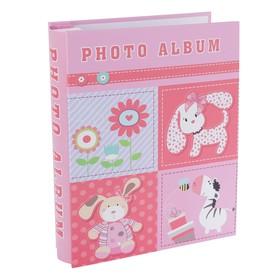 Фотоальбом на 100 фото 10х15 см 'Весёлые картинки' в коробке 20,7х26,3х6 см МИКС Ош