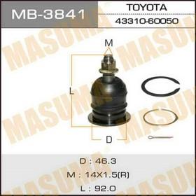 Шаровая опора Masuma MB3841, Toyota 48610-60030 Ош