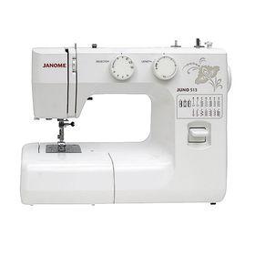 Швейная машина Janome Juno 513, 85 Вт, 15 операций, полуавтомат, белая