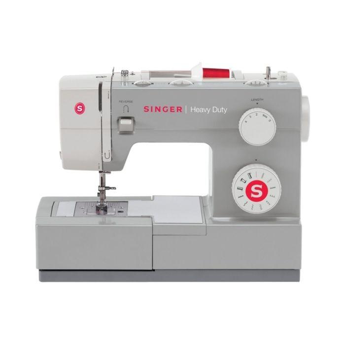 Швейная машина Singer Heavy Duty 4411, 11 операций, горизонтальный челнок, серая