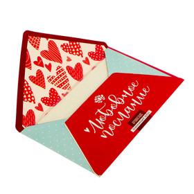 Аромасаше в почтовом конверте 'Любовное послание' с ароматом освежающего арбуза Ош