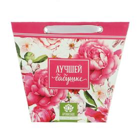 Аромасаше в сумочке 'Лучшей бабушке' с ароматом розового пиона Ош