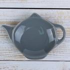 Подставка под чайный пакетик Доляна «Весна», 11,5×8,5 см, цвет серый - Фото 2