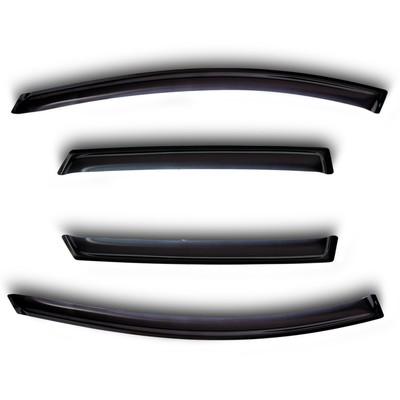 Ветровики, 4 двери, Citroen Jumpy/ Peugeot Expert/ Fiat Scudo 2ч.2007- - Фото 1