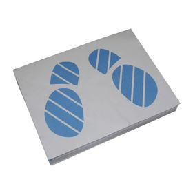 """Коврики бумажные двухслойные PINGO """"Следы ног"""", 405х500 мм, 500 шт."""