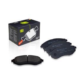 Колодки тормозные дисковые передние для автомобилей Chevrolet Aveo (05-) 96534653, TRIALLI PF 062101 Ош