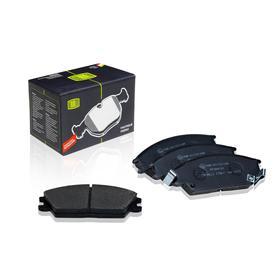 Колодки тормозные дисковые передние для автомобилей Hyundai Accent (95-)/Getz (02-) 58101-28A10, TRIALLI PF 084101 Ош