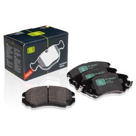 Колодки тормозные дисковые передние для автомобилей Hyundai Tucson (04-)/Kia Sportage(04-) K581014QA00, TRIALLI PF 084501 Ош