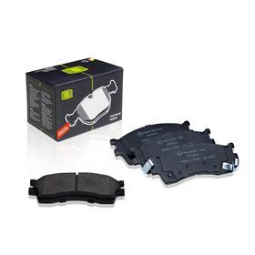 Колодки тормозные дисковые передние для автомобилей Kia Rio I (00-) 1.5 58115FDB00, TRIALLI PF 073101 Ош