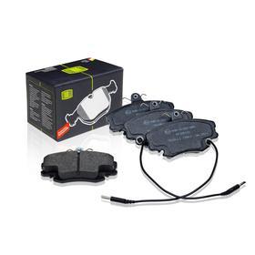 Колодки тормозные дисковые передние для автомобилей Lada Largus (12-) 8v /Renault Logan (04-) E172171, TRIALLI PF 095101 Ош