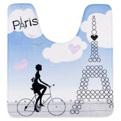 Коврик Ultra Soft Paris mademoiselle, 55 х 60 см