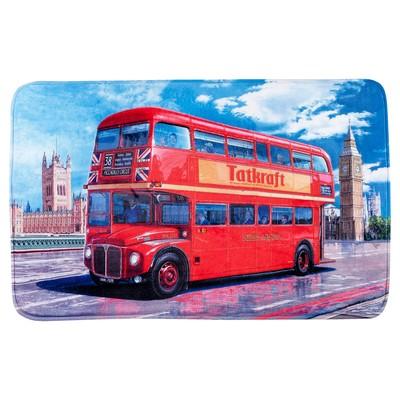 Коврик Ultra Soft London bus, 50 х 80 см