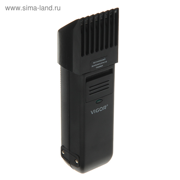 Машинка для стрижки Vigor HX-6275, АКБ, 6 уровней стрижки, черно-серебристая