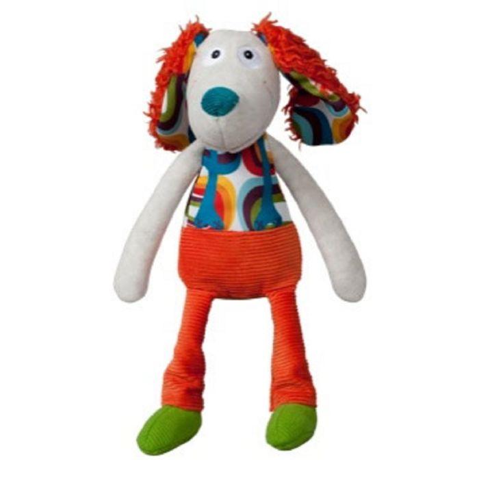 Мягкая игрушка Ebulobo «Пёсик Тони» с погремушкой внутри