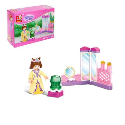 Конструктор «Розовая мечта: принцесса», 29 деталей - Фото 1