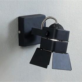 "Бра CL526512S ""Рубик"" 1x50W GU10 черный 7x7x8 см"