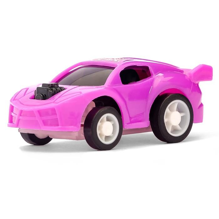 Машина инерционная Гонщик, цвета МИКС
