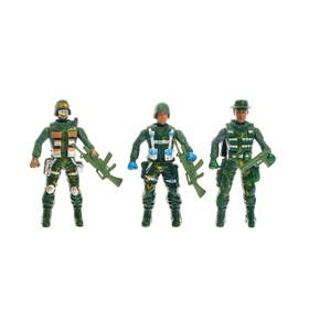 Набор солдатиков «Спецназ», 3 шт. Ош