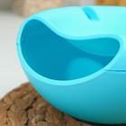 Тарелка для семечек и орехов «Плэтэр», 20×11 см, с подставкой для телефона, цвет МИКС - Фото 3