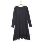 Платье женское «Айова», цвет тёмно-серый, размер 46