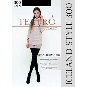 Колготки женские с начесом Iceland style 300 цвет чёрный (nero), р-р 2