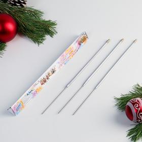 """Бенгальские огни, 30 см, 3 штуки, """"Новогодние"""""""