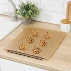 Коврик тефлоновый многоразовый 33х40 см - Фото 1