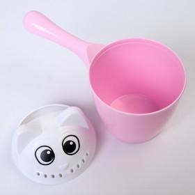 Ковш для купания детский «Котофей», 1 литр, цвет МИКС