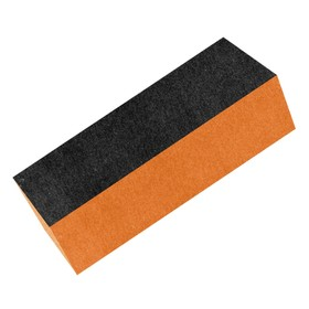 Блок для шлифовки ногтей, цвет чёрно-оранжевый (ZJNB-1)