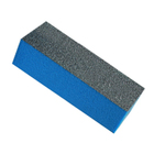 Блок для шлифовки ногтей, цвет чёрно-синий (В-12)