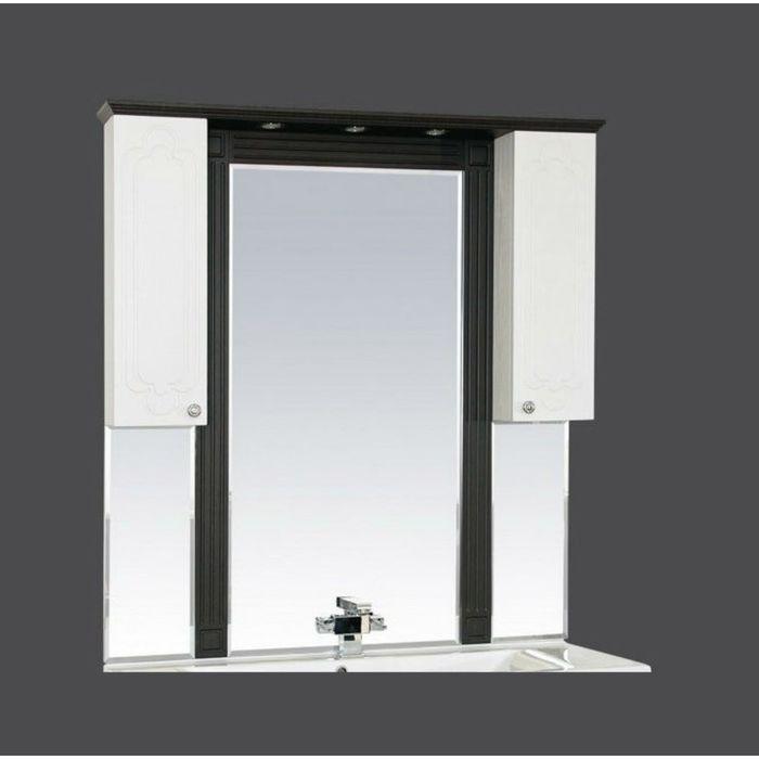 """Зеркало Misty """"Марсель 120"""", комбинированное венге-белое"""