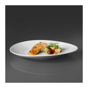 Набор тарелок ШИН, 2 шт, цвет белый