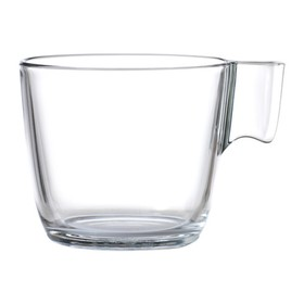 Кружка СТЕЛЬНА, прозрачное стекло