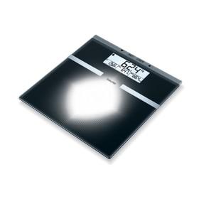 Весы напольные Beurer BG21, электронные, диагностические, до 180 кг, чёрные
