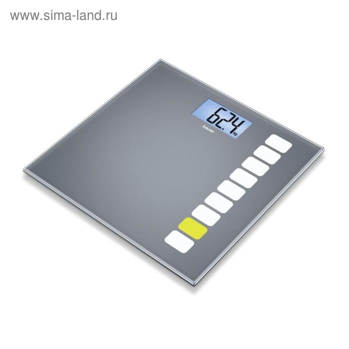 Весы напольные Beurer GS205, электронные, до 150 кг, серые