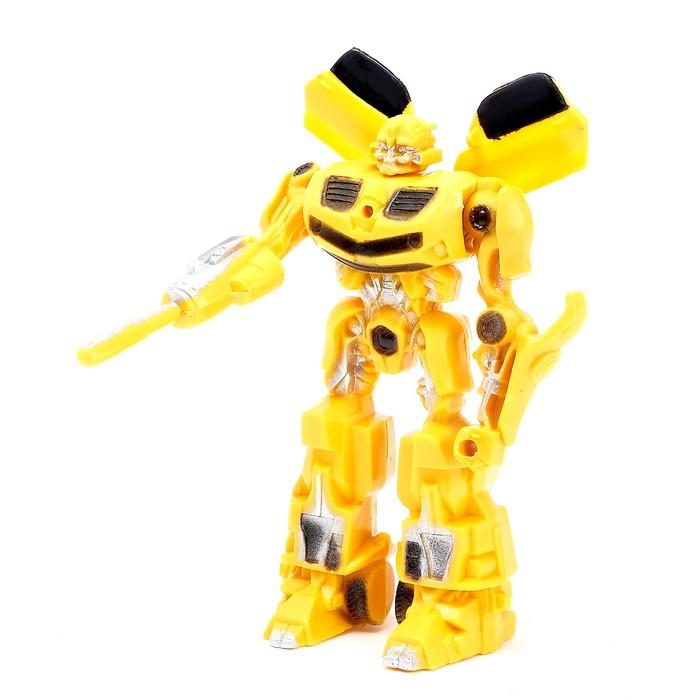 Робот Автобот, световые эффекты, цвета МИКС