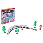 Железная дорога «Экспресс», протяжённость пути 1,55 м