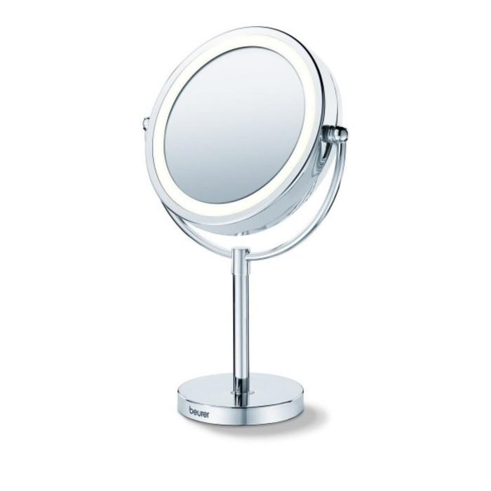 Зеркало Beurer BS69, подсветка, 42,5 × 29,2 × 16,5 см, увеличение х5, 220 В
