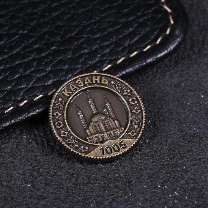 Монета Казань, d 2 см