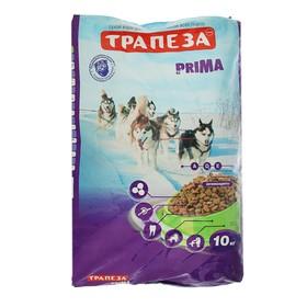 """Сухой корм """"Трапеза"""" ПРИМА для взрослых собак с высокой активностью, 10 кг"""