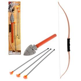 Набор индейца «Апач»: лук, присоски, нож Ош