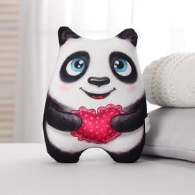 Игрушка-антистресс «Панда с сердечком» Ош