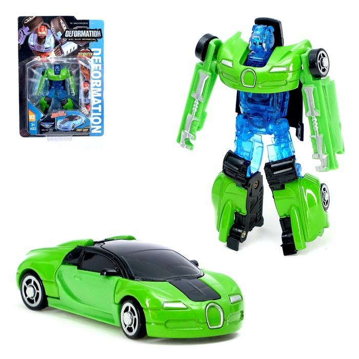 Робот металлический «Автобот», трансформируется, цвета МИКС
