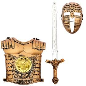 Набор рыцаря «Храбрый воин», 3 предмета Ош